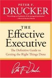 EFFECTIVE EXECUTIVE (Book by Peter Drucker)