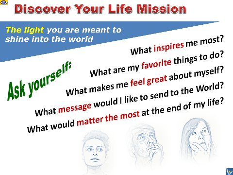 How To Discover Life Mission questions to ask advice Vadim Kotelnikov