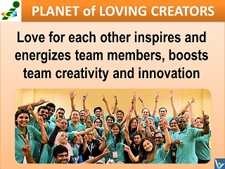 Passionate team quote Vadim Kotelnikov love for each other creativity innovation